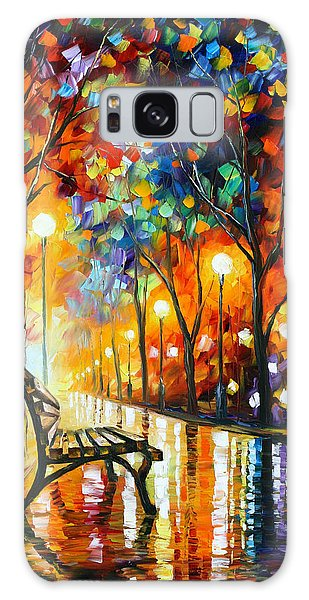 Abstract People Galaxy Case - Loneliness Of Autumn by Leonid Afremov