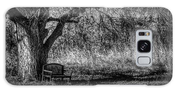 Lonely Bench Galaxy Case by Ross Henton