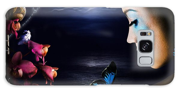 Lonely Blue Princess And The Villains Galaxy Case
