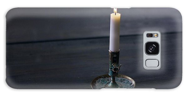 Lonely Candle Galaxy Case