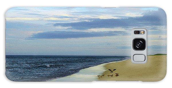 Lonely Cape Cod Beach Galaxy Case