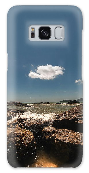 Lonely Cloud Galaxy Case