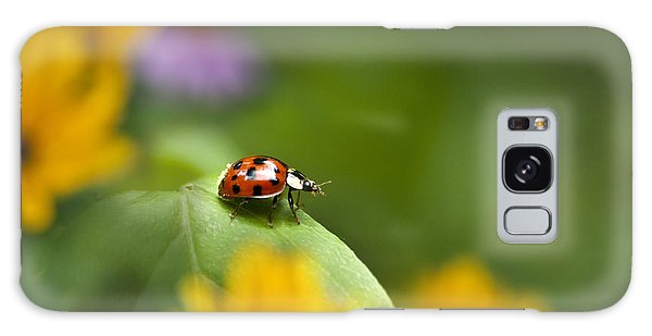 Lonely Ladybug Galaxy Case by Christina Rollo