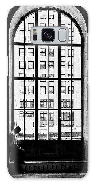 Tall Galaxy Case - Lonely Man by Massimo Della Latta