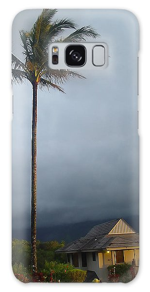 Lonely Palm Galaxy Case by John Bushnell
