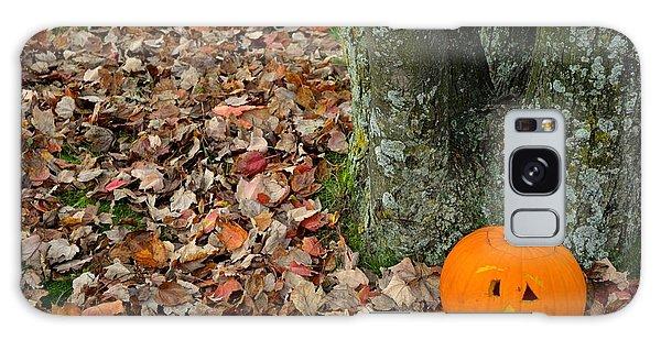 Lonely Pumpkin Galaxy Case