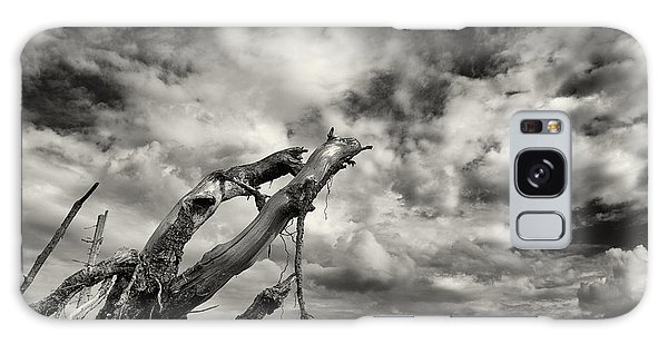 Lonely Tree Roots Reaching For The Sky Galaxy Case by Christian Lagereek