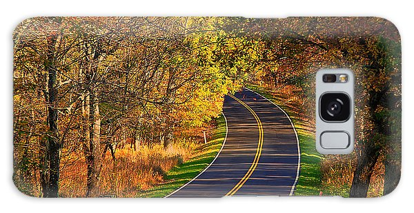 Long And Winding Road Galaxy Case