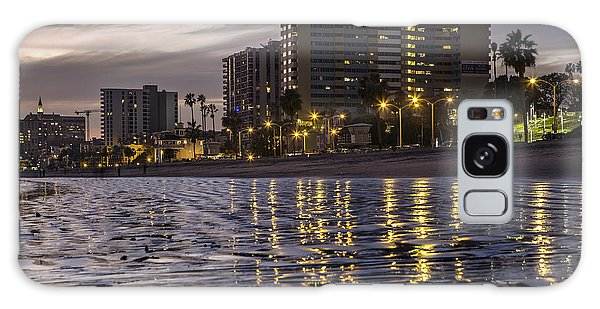 Long Beach Evening Galaxy Case