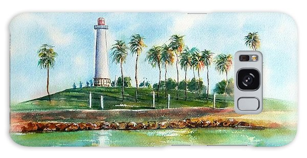 Long Beach Lighthouse  Version 2 Galaxy Case
