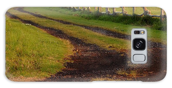 Long Dirt Road Galaxy Case