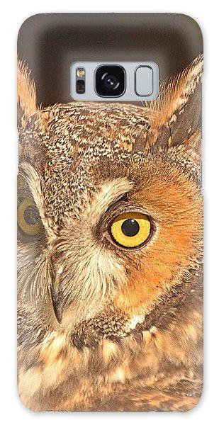 Long-eared Owl Galaxy Case by Nancy Landry