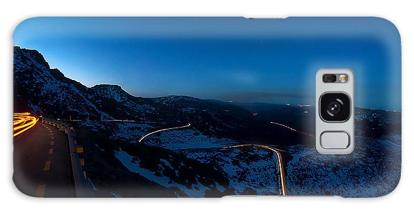 Long Exposure In Serra Da Estrela Portugal Galaxy Case