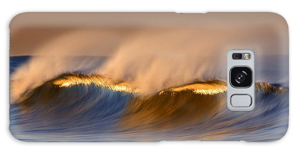 Long Golden Crest  Mg_1721 Galaxy Case by David Orias