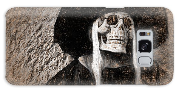 Long Haired Skeleton Galaxy Case