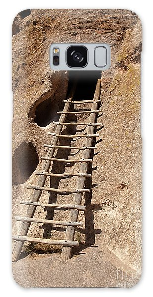 Long House Front Door Bandelier National Monument Galaxy Case