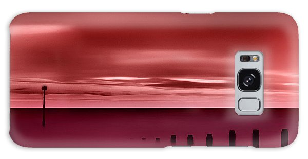 Long Red Sunset Galaxy Case