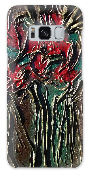 Long Stem Roses Galaxy Case by Angela Stout