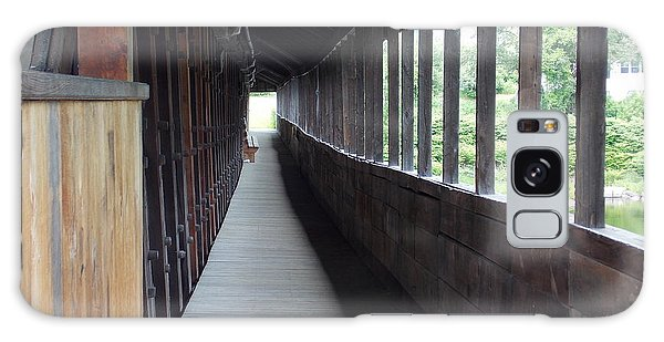 Long Walkway In Covered Bridge Galaxy Case