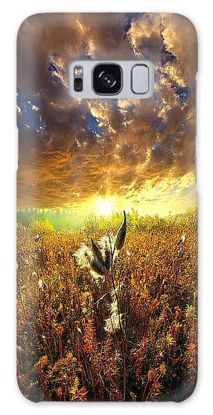 Picnic Table Galaxy Case - Longing To Return by Phil Koch