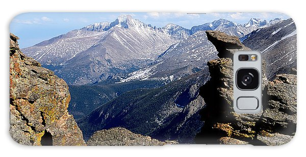 Long's Peak From The Rock Cut Galaxy Case