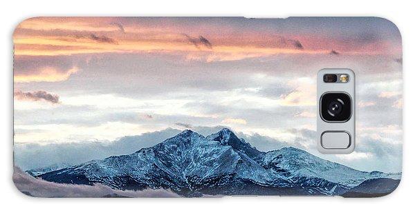 Longs Peak In Winter Galaxy Case