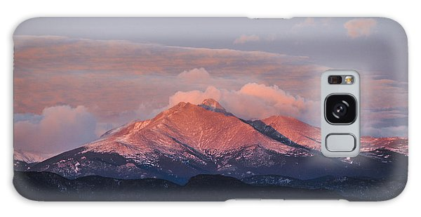 Longs Peak Sunrise Galaxy Case