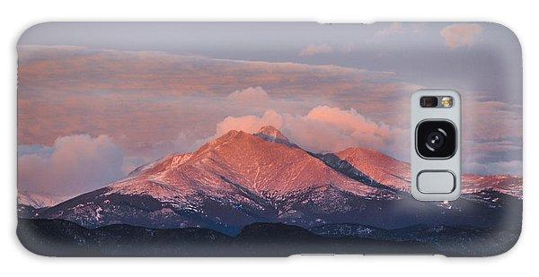 Longs Peak Sunrise Galaxy Case