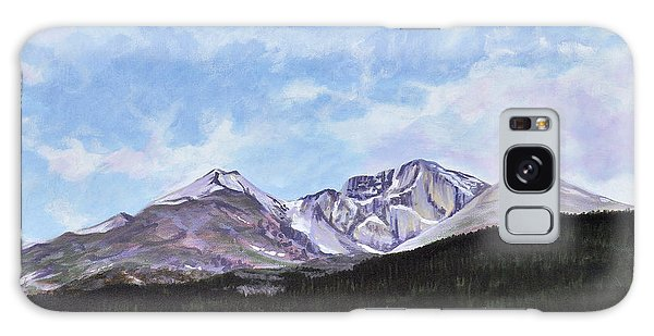 Longs Peak Vista Galaxy Case by Craig T Burgwardt