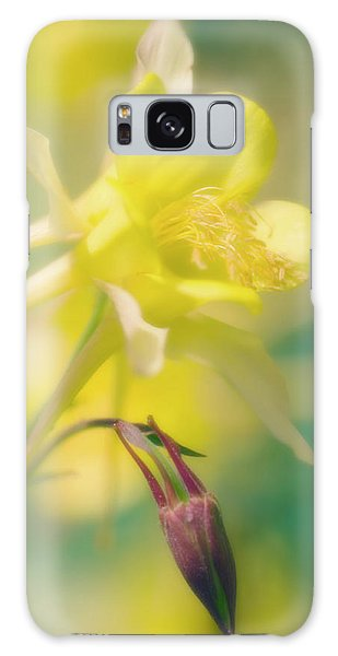 Aquilegia Galaxy Case - Longspur Columbine (aquilegia Longissima) by Maria Mosolova/science Photo Library