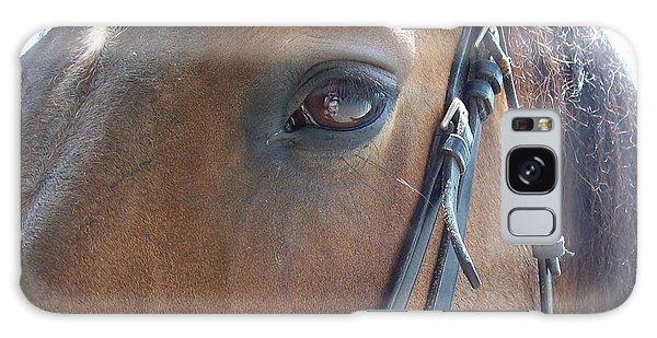 Look In My Eye Galaxy Case by Barbara S Nickerson