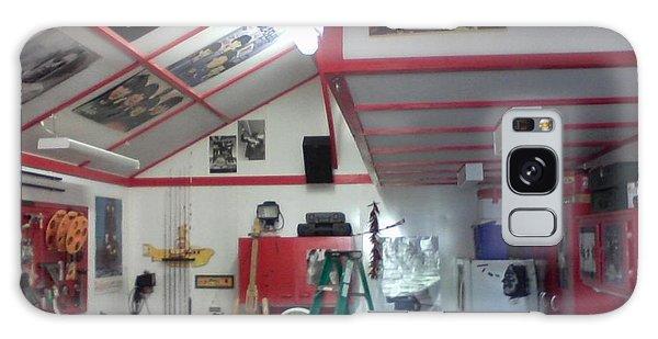 Look Inside Studio Work Shop Galaxy Case