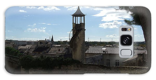 Look Out Tower On The Approach To Beaucaire Castle Galaxy Case