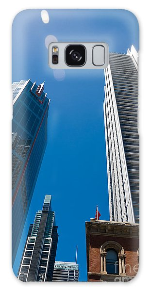 Look Up To The Sky - Skyscrapers In Sydney Australia Galaxy Case