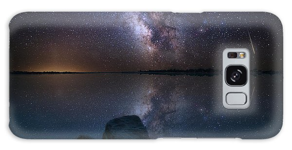 Looking At The Stars Galaxy Case by Aaron J Groen