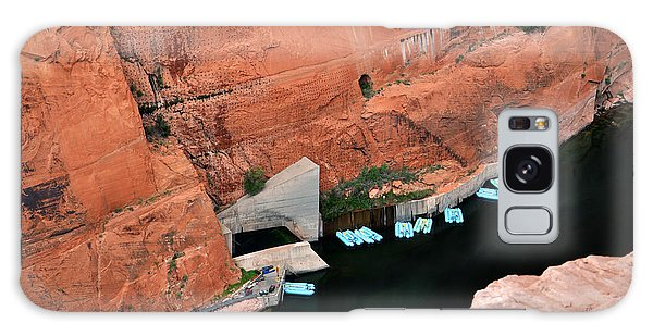 Looking Down At Glen Canyon  Galaxy Case