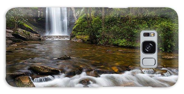 Looking Glass Falls - Blue Ridge Waterfalls Brevard Nc Galaxy Case