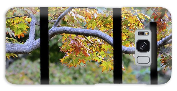 Looking In The Japanese Garden Galaxy Case by Alex King