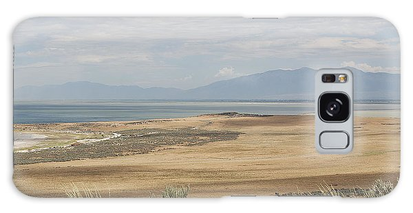 Looking North From Antelope Island Galaxy Case by Belinda Greb