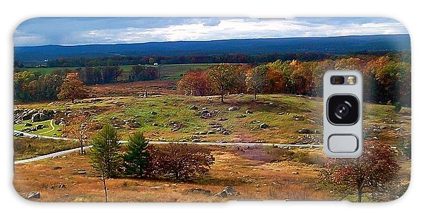 Looking Over The Gettysburg Battlefield Galaxy Case