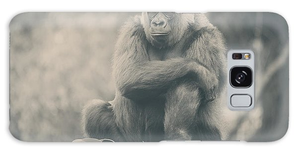 Gorilla Galaxy Case - Looking So Sad by Laurie Search