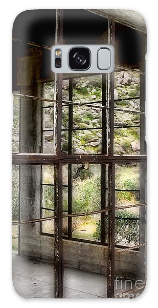 Looking Through The Window By Diana Sainz Galaxy Case