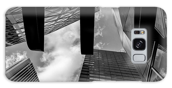 Looking Up In Downtown Tokyo Galaxy Case by Dean Harte