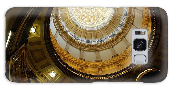 Looking Up The Capitol Dome - Denver Galaxy Case