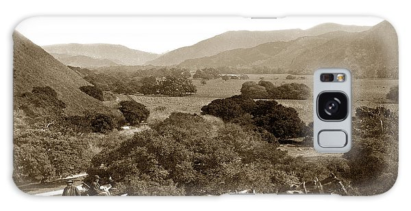 Looking Up The Carmel Valley California Circa 1880 Galaxy Case