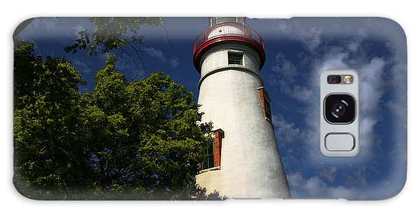 Looking Up To Marblehead Light Galaxy Case
