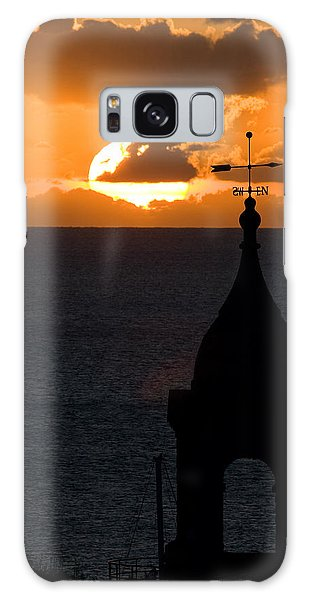 Galaxy Case featuring the photograph Looking West by Brad Brizek