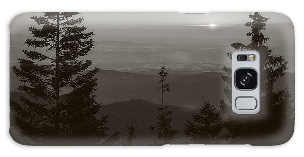 Lookout Butte Sunset Galaxy Case