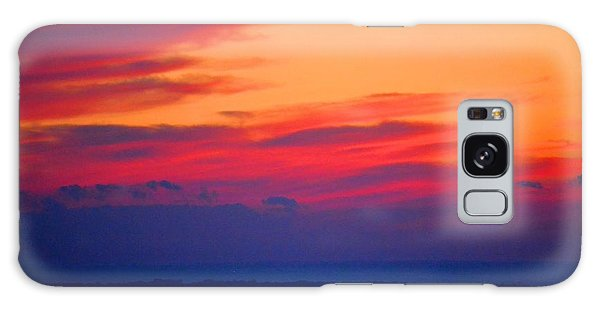 Lookout Mountain Sunset Galaxy Case by Tara Potts