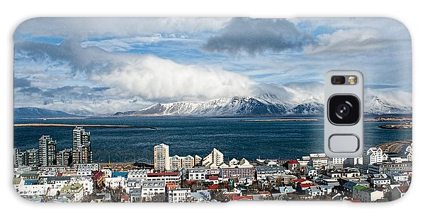 Lookout Over Reykjavik Galaxy Case